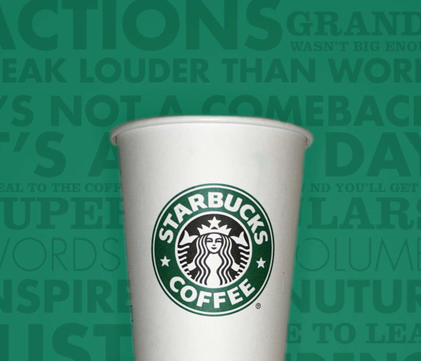 Starbucks Brand Refresh