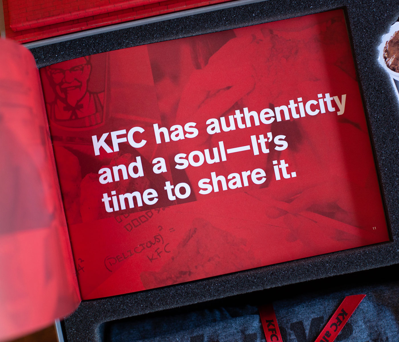 KFC Authenticity Statement