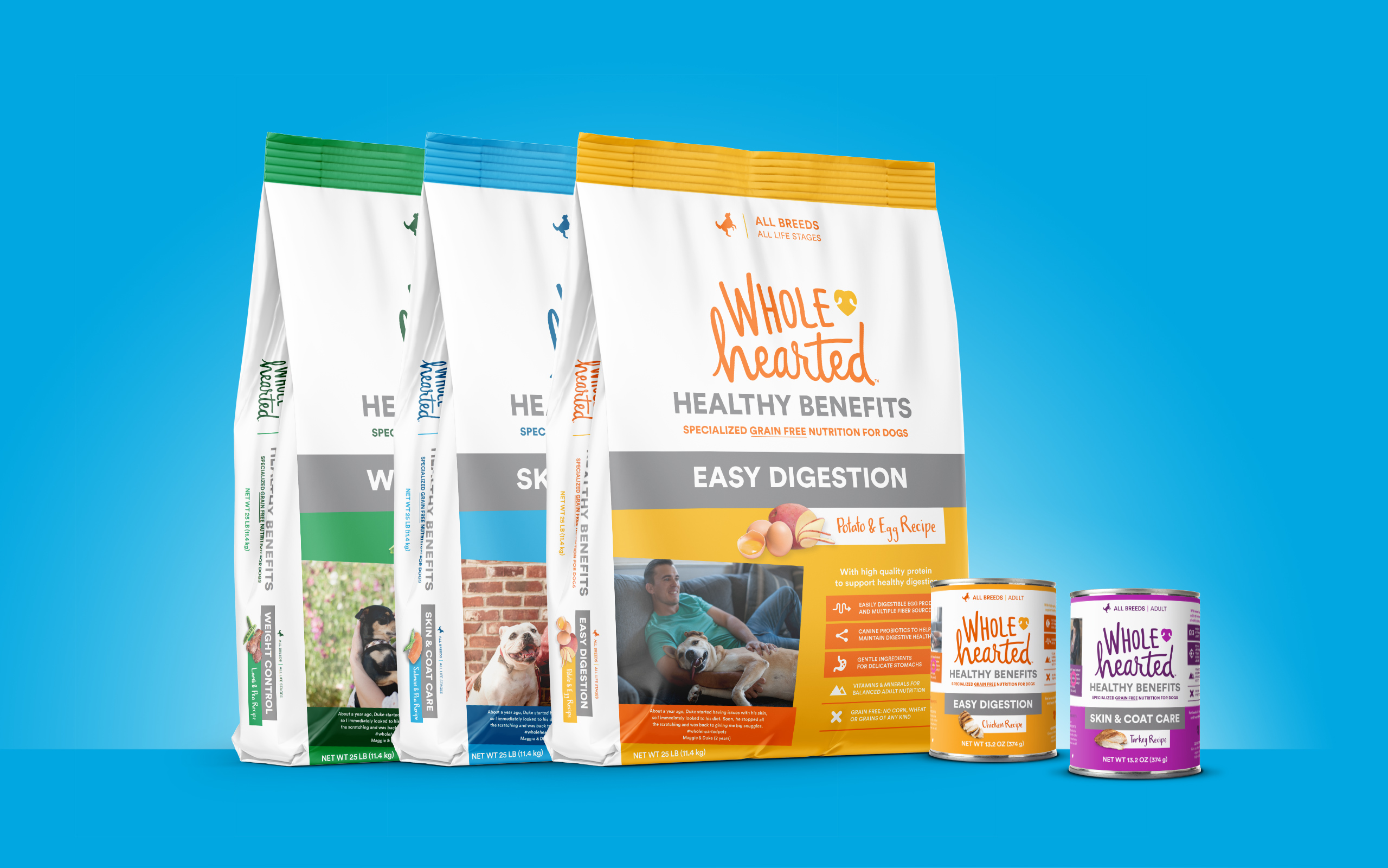WholeHearted Healthy Benefits Pet Food