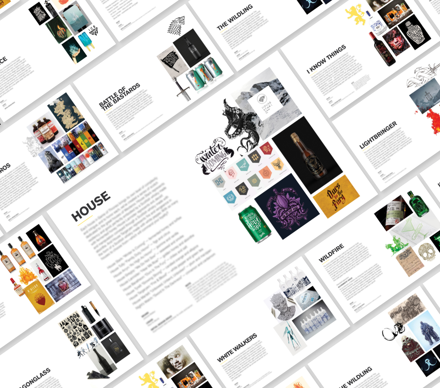 Product Brand Book Elements
