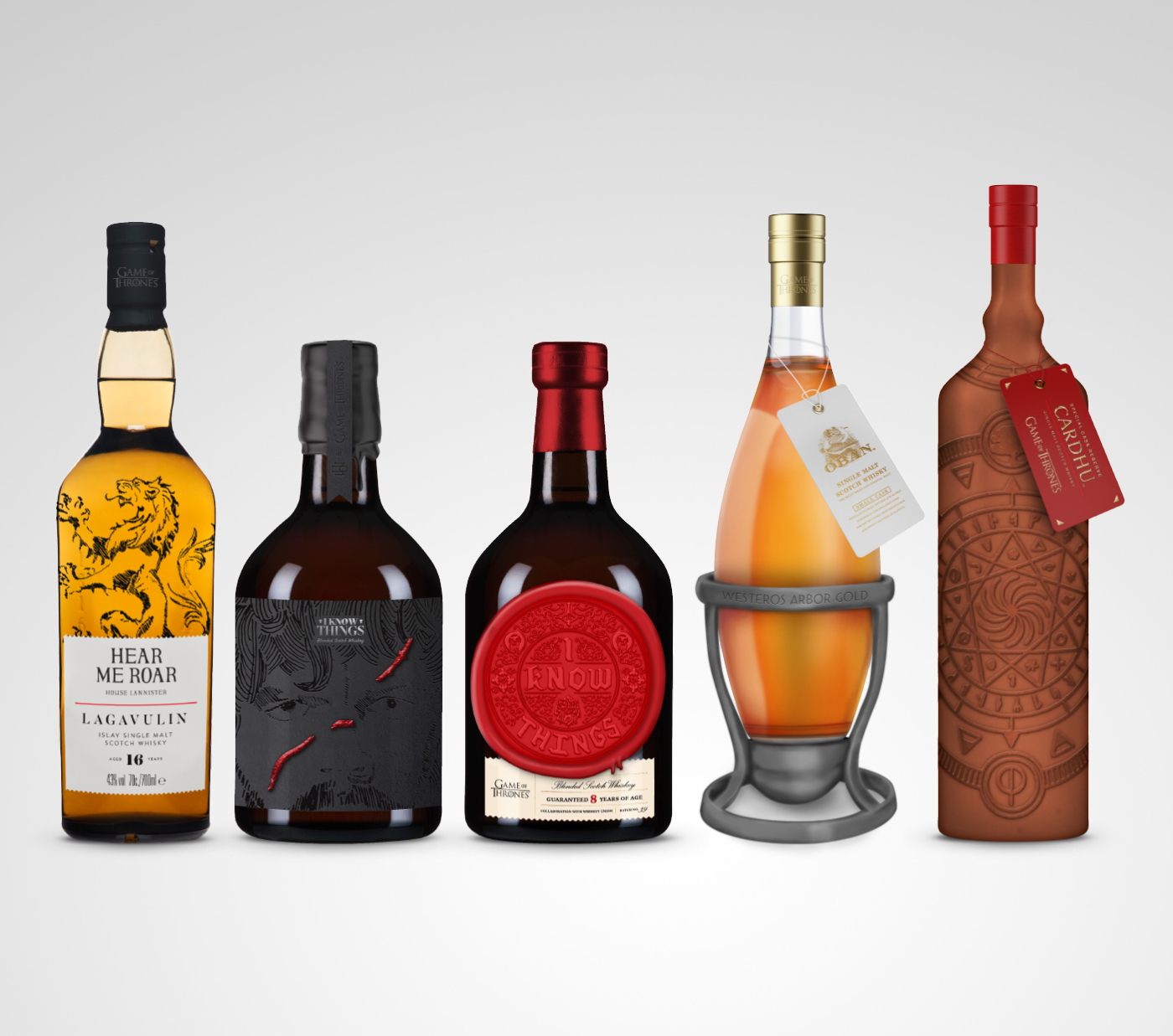 Game of Thrones Whiskey Collection