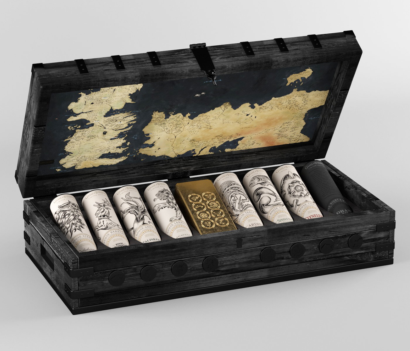 Game of Thrones Limited Edition Wood Chest