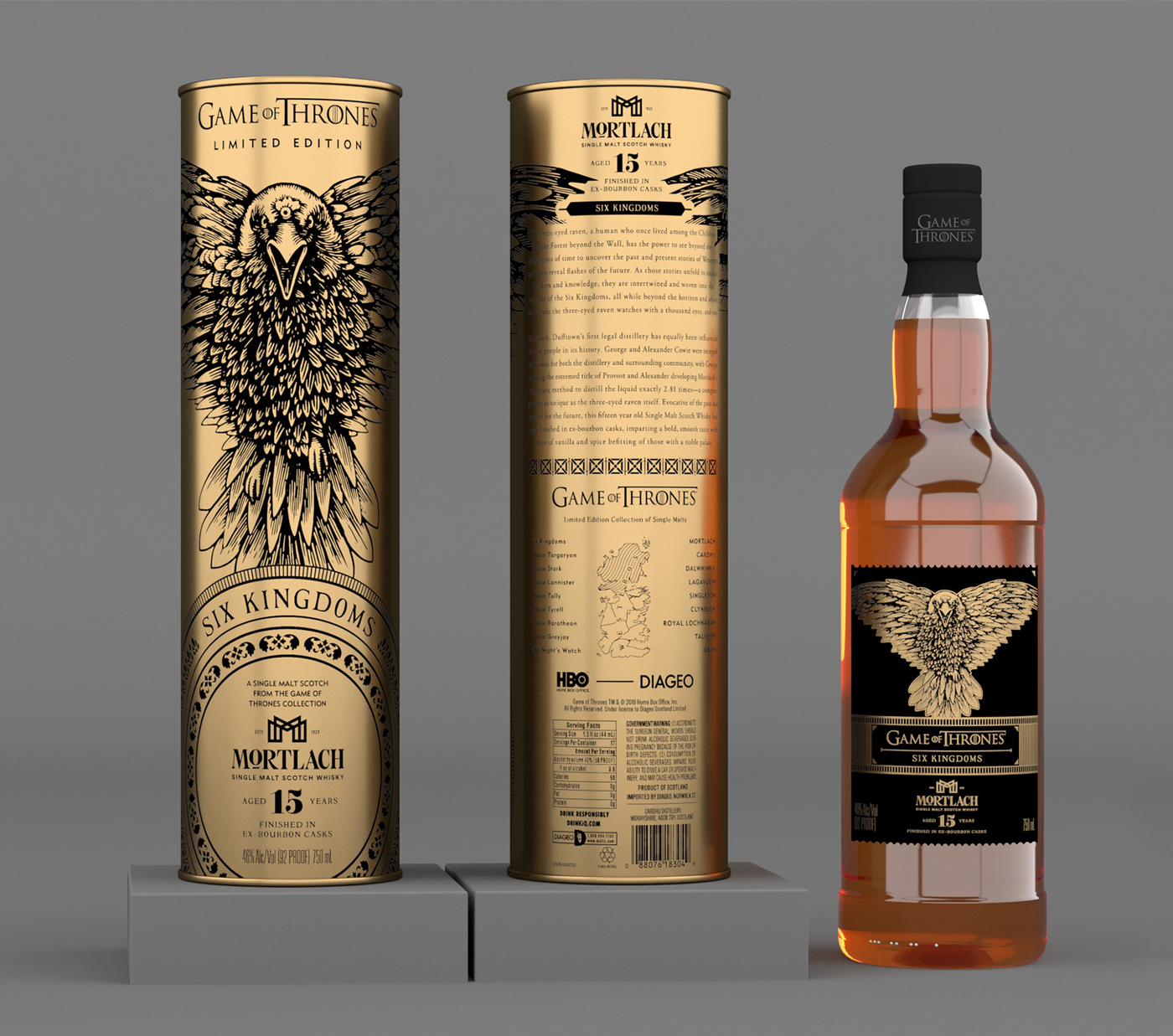 Game of Thrones Mortlach six kingdoms