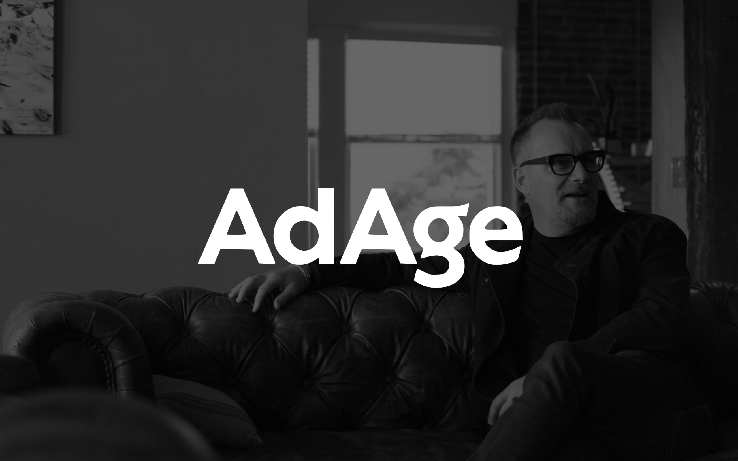 Shawn Parr with Ad Age Logo